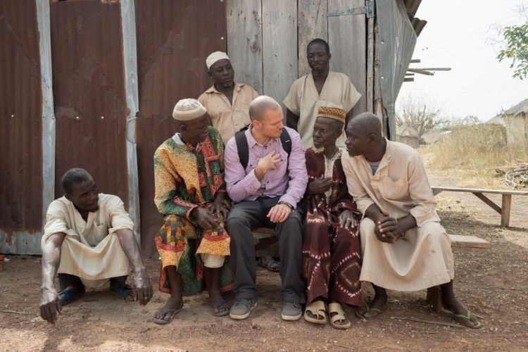 Photos in Ghana for Rene recording, in a village near Tamale. 1