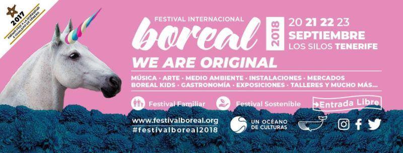 Festival Internacional Boreal 2020 | Cartel / Entradas / Horarios