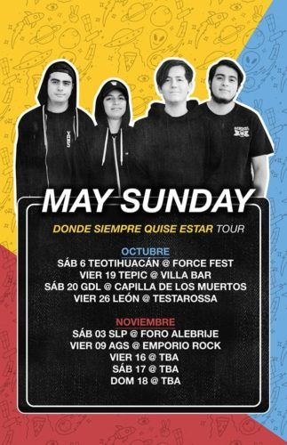 May Sunday Tour 2018