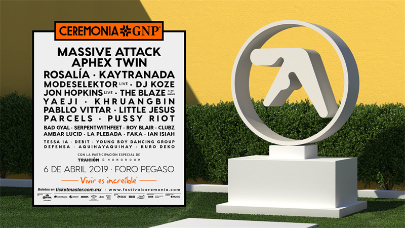 ceremonia 2019 aphex twin cartel