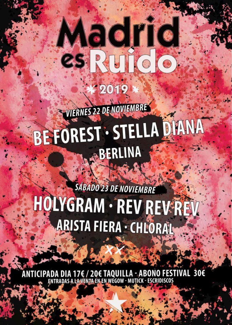 Madrid es Ruido 2019