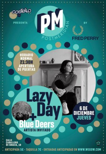 muses live diciembre lazy day blue deers