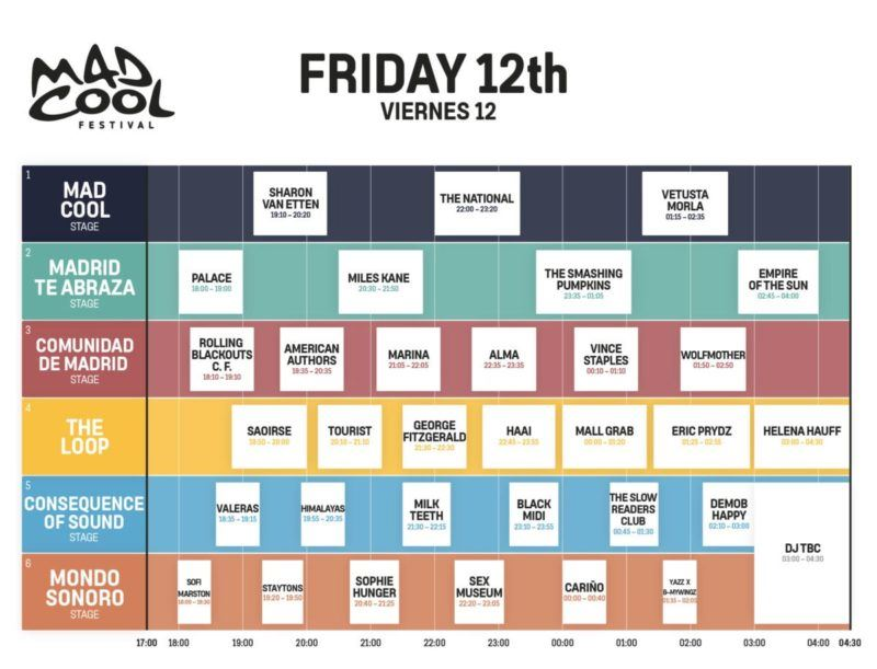 Mad Cool Festival 2021 3