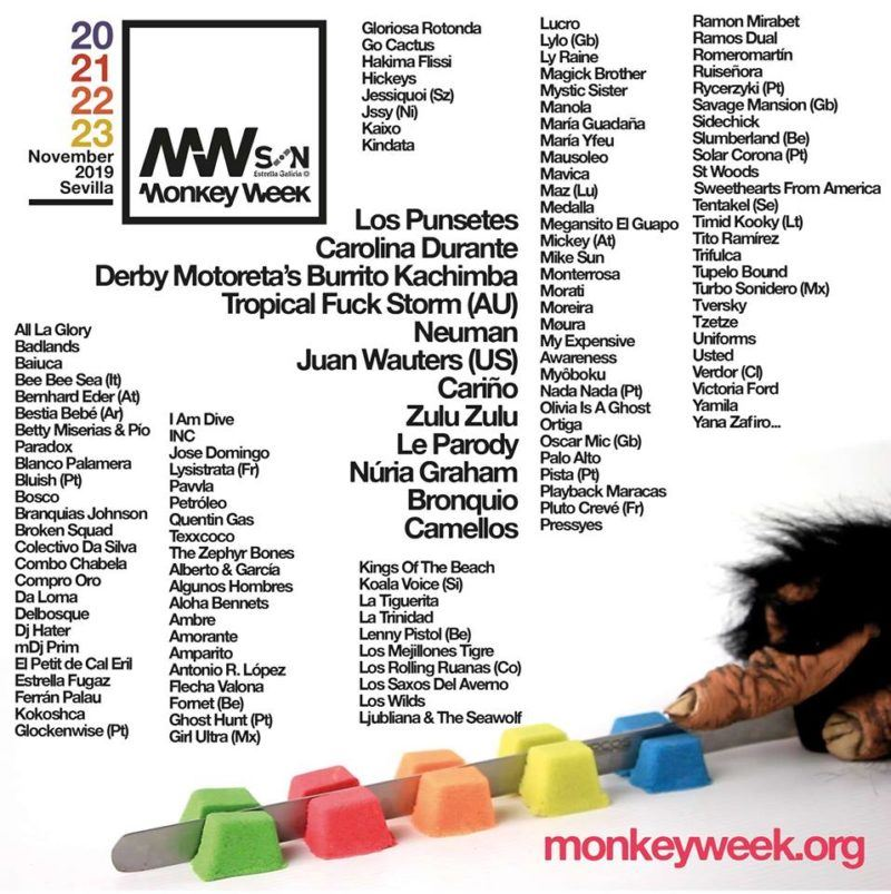 cartel monkey week 2019