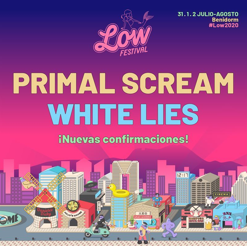 low festival 2020 primal scream white lies