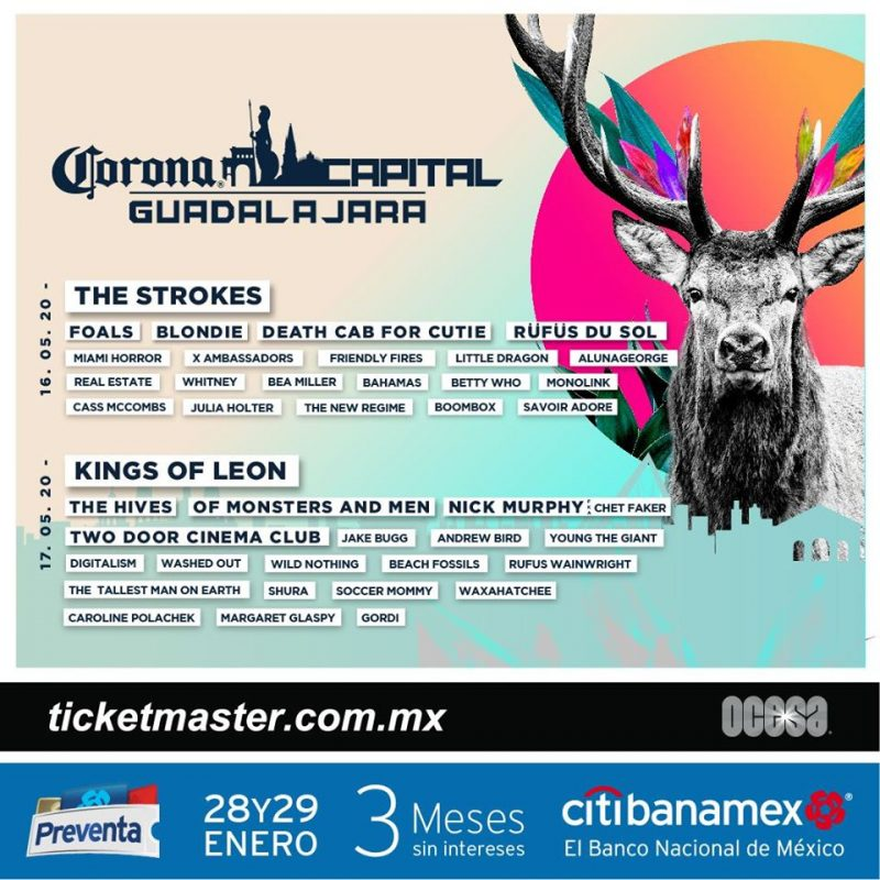 cartel corona capital guadalajara 2020