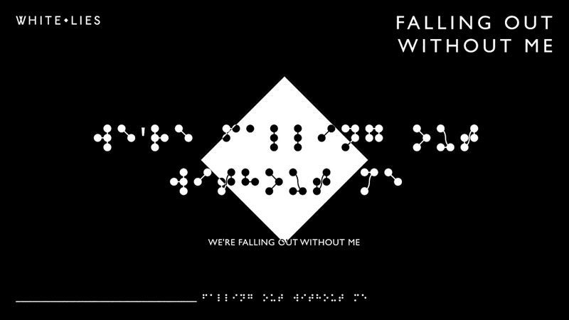 white lies falling out with me