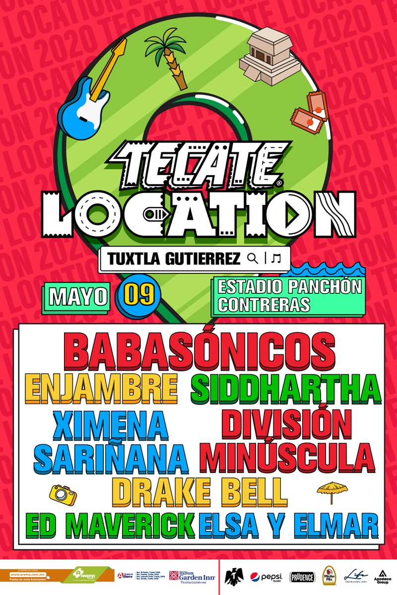 cartel tecate location tuxtla 2020
