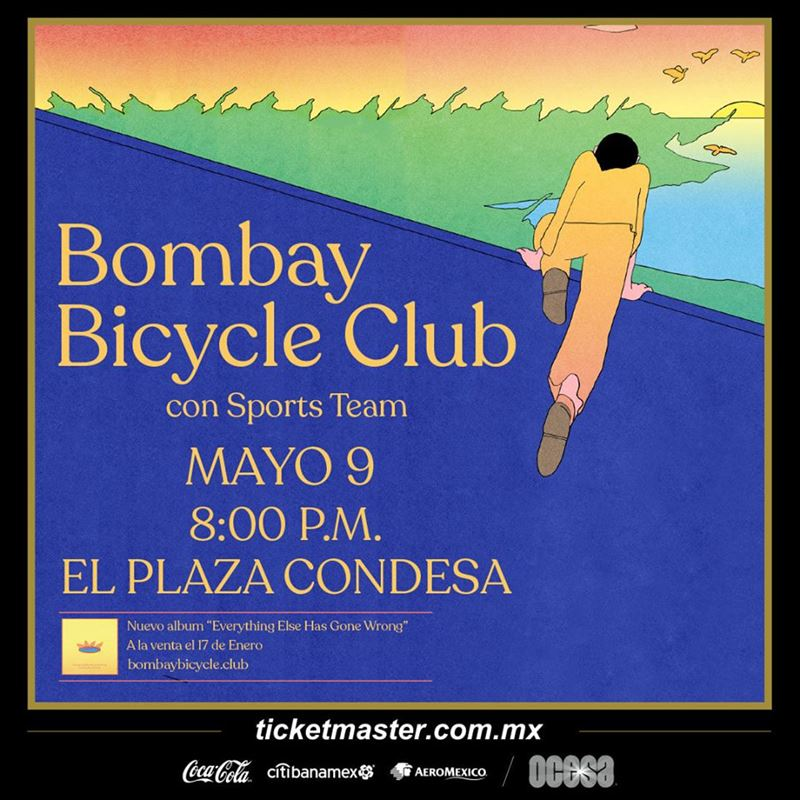 bombay bicycle club el plaza condesa
