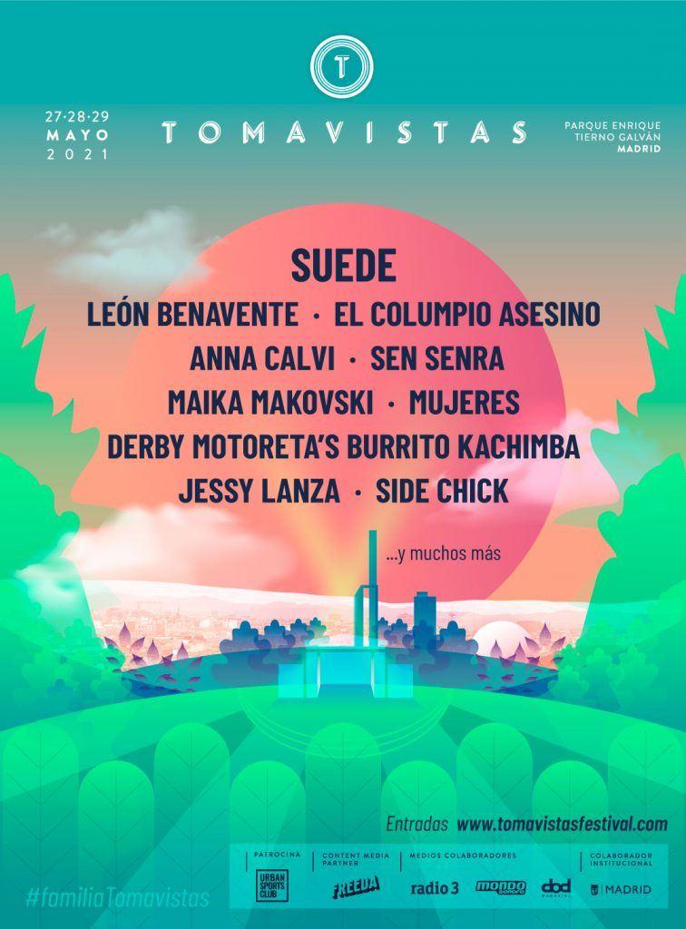 cartel festival tomavistas 2021 junio 1