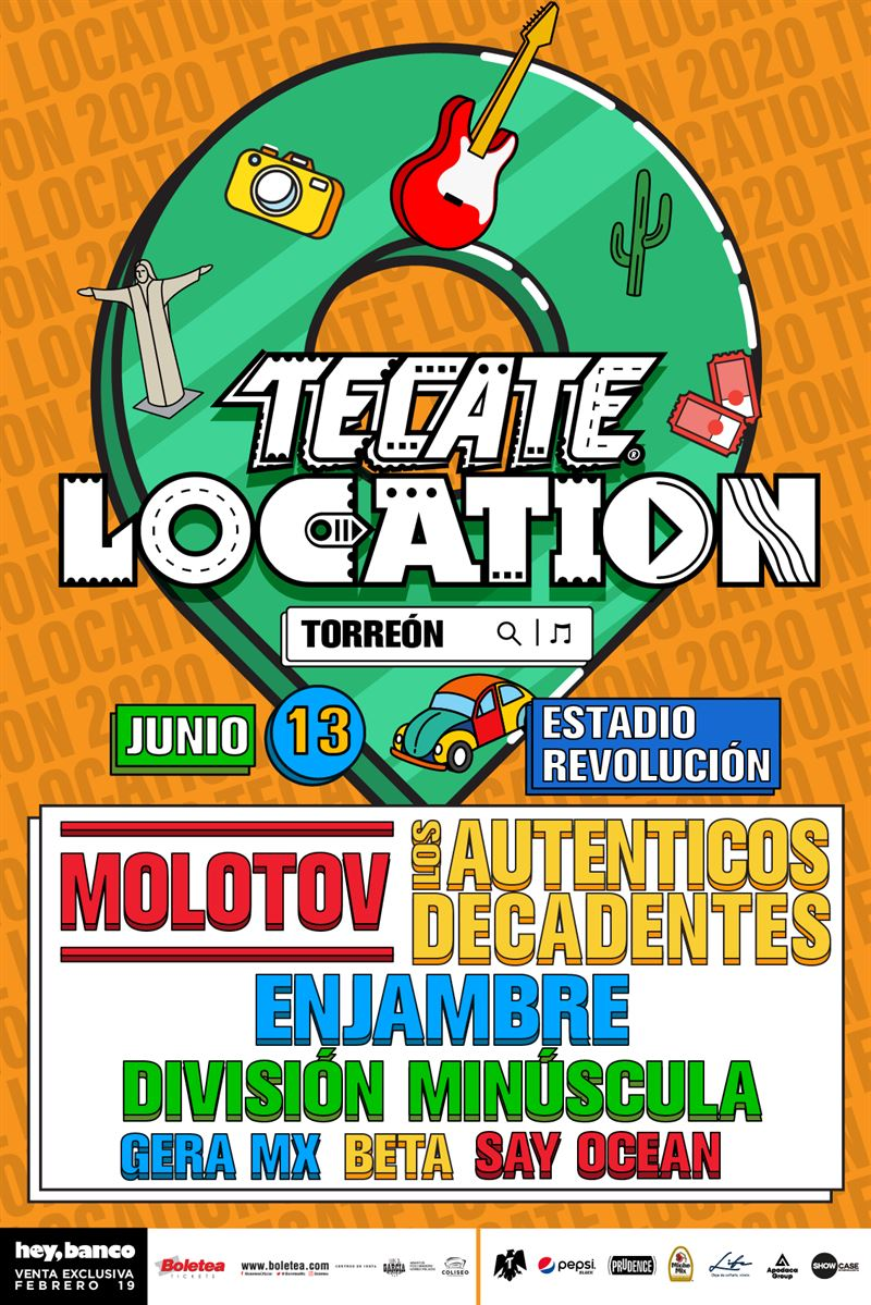 cartel tecate location torreón