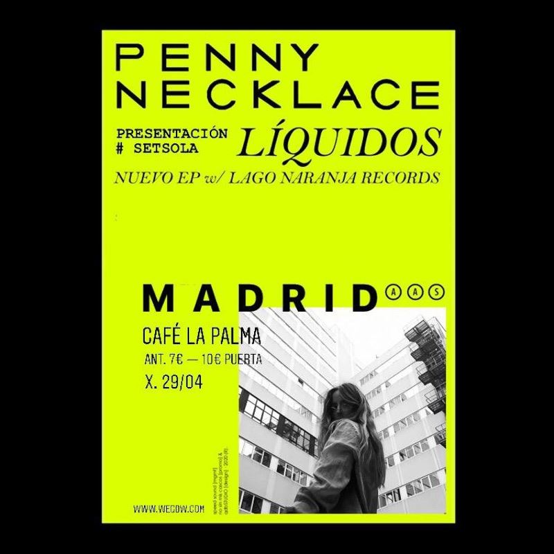 penny necklace líquidos madrid 29 abril