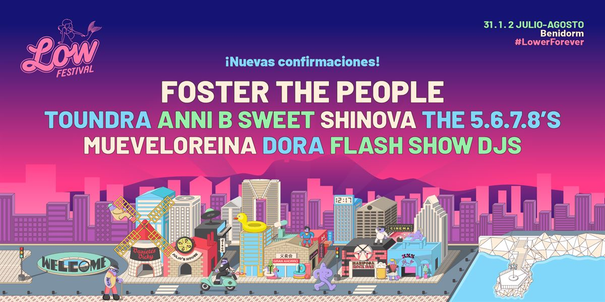 fosther the people low festival 2020