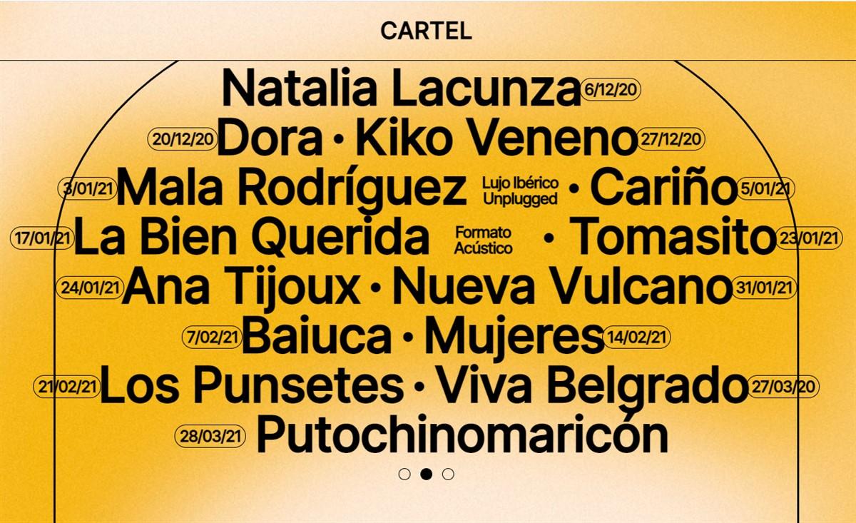 Yawners y Mujeres, nuevas citas con Madrid Brillante 3