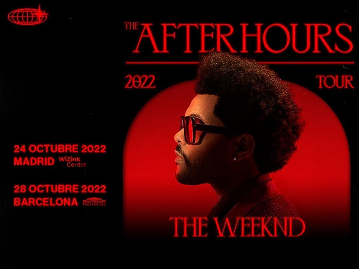The Weeknd aterrizará en España en octubre de 2022 5